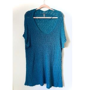 Free People knitted tunic
